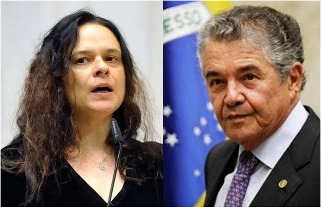 Janaína elogia Marco Aurélio por voto contra inquérito no STF: