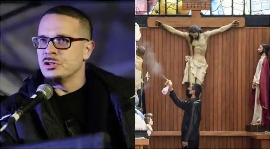 Ativista quer derrubar estátuas de Jesus branco por suposta