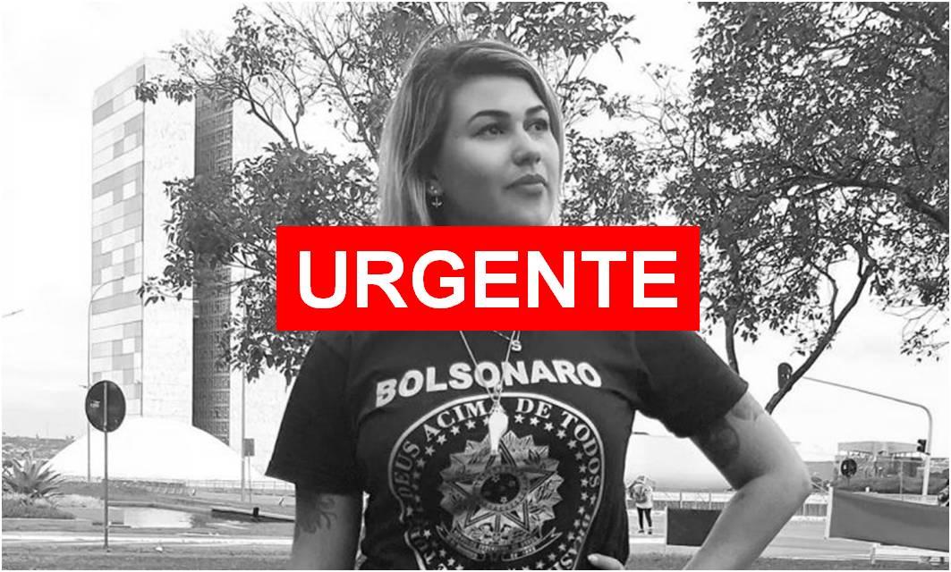 Ativista pró-Bolsonaro, Sara Winter é presa por autorização de Alexandre de Moraes