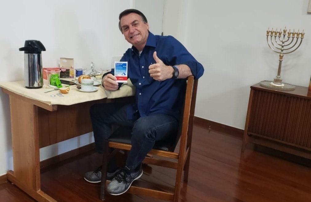Novo teste de Bolsonaro para coronavírus dá resultado negativo