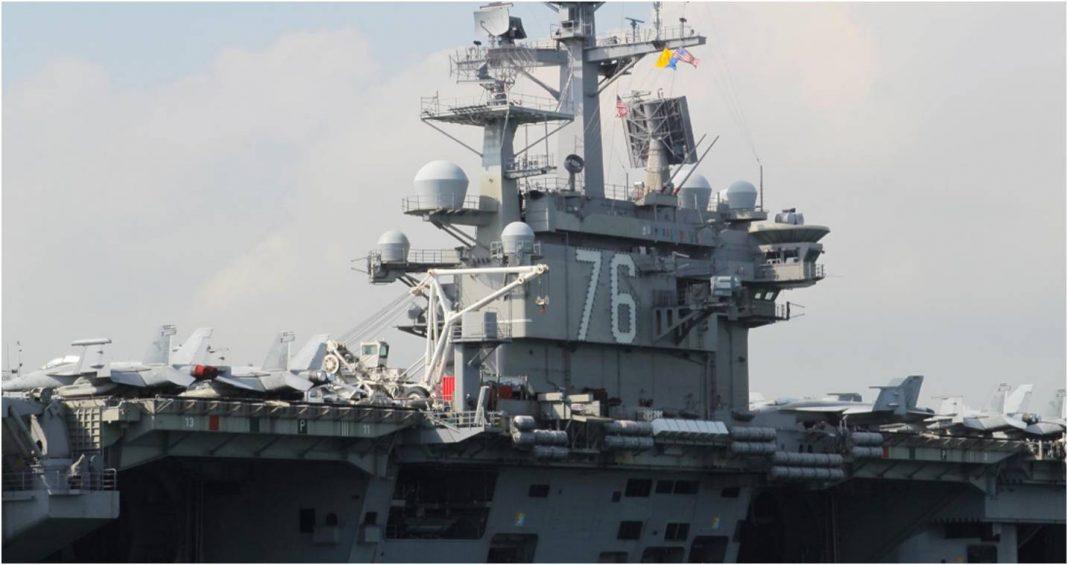 Estados Unidos envia dois porta-aviões para o Mar da China em momento de tensão