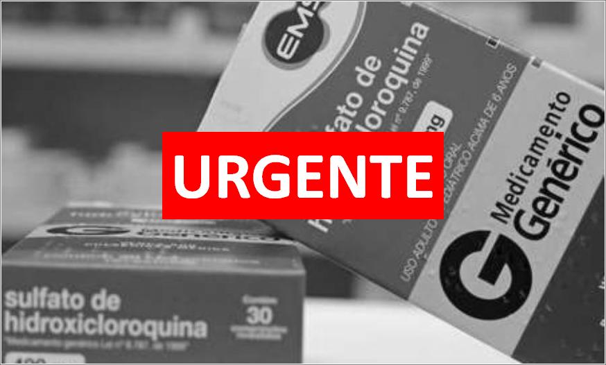 Cloroquina: Associação Médica defende autonomia dos médicos e critica politização