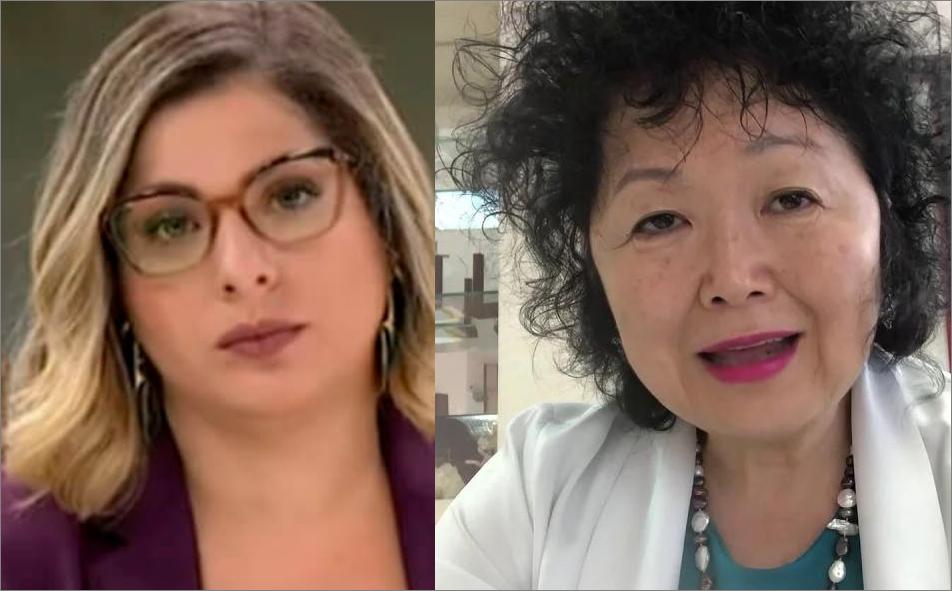 [Vídeo] Âncora da CNN Brasil responde com arrogância médica Nise Yamaguchi
