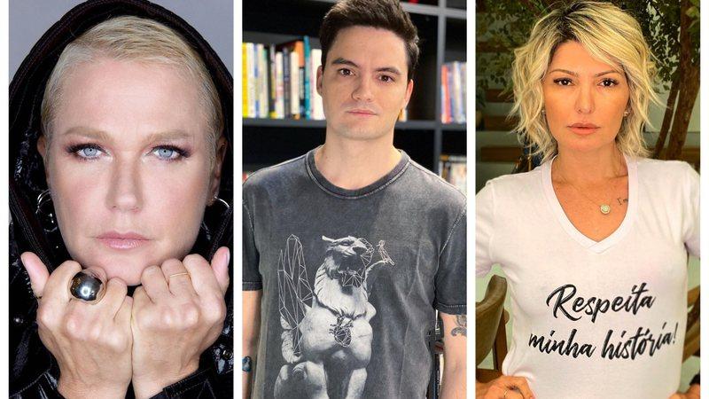 Xuxa manifesta apoio a Felipe Neto e Fontenelle dispara: