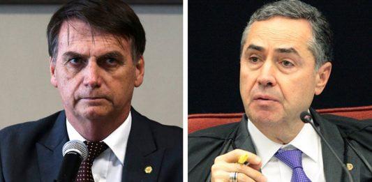 """E se fosse Bolsonaro acusando Barroso de defender """"ditadura"""" e a """"tortura""""?"""