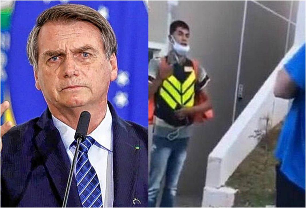 Bolsonaro condena humilhação sofrida por motoboy em SP: