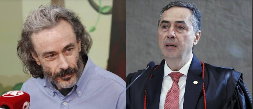 """VÍDEO: Fiuza chama Barroso de """"palhaço"""" e """"mentiroso"""" por acusações contra Bolsonaro"""