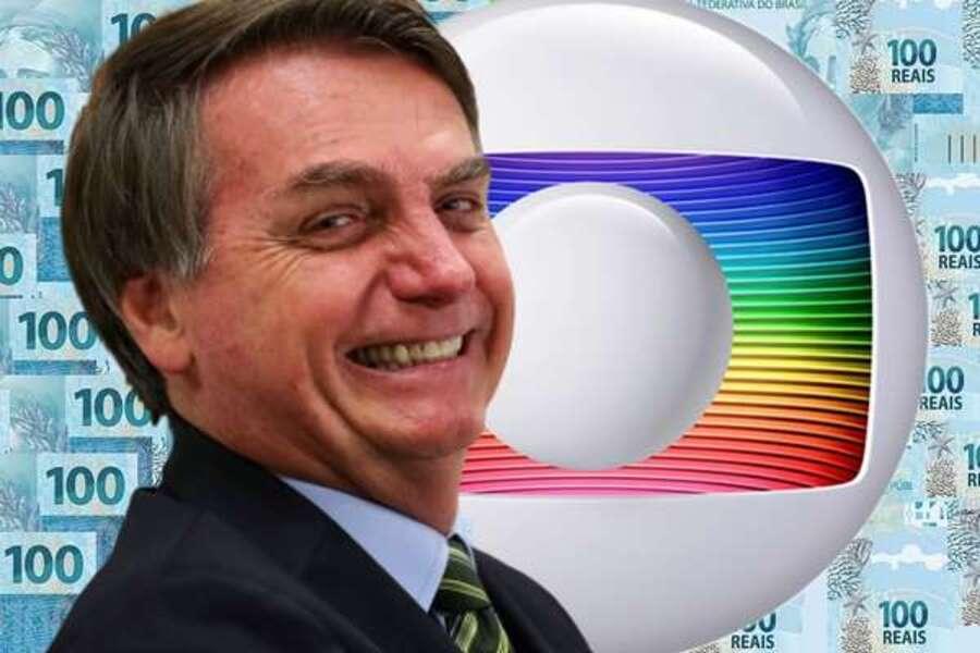 Bolsonaro corta quase 60% de verba publicitária para a Globo em 2020