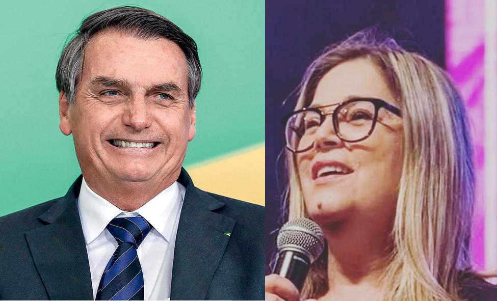 Marisa Lobo é a única pré-candidata à Prefeitura curtida por Bolsonaro, diz revista