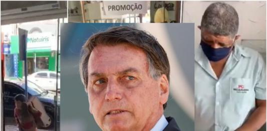 "Bolsonaro ironiza o MP sobre caso de relojoeiro: ""Pode fumar crack, menos trabalhar"""