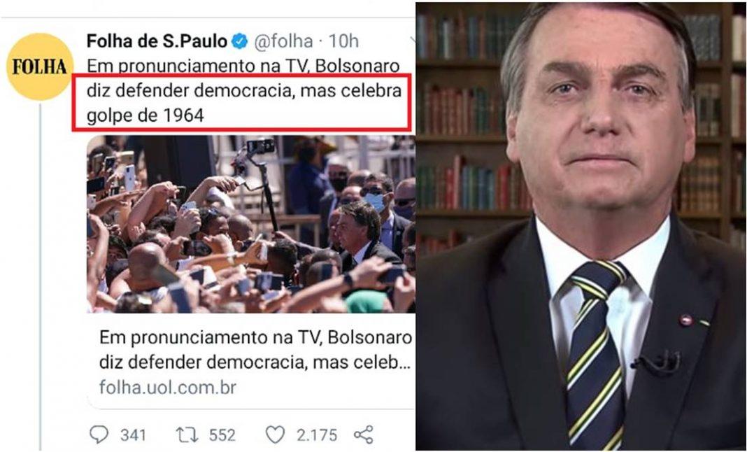 Fake news: é falso que Bolsonaro celebrou