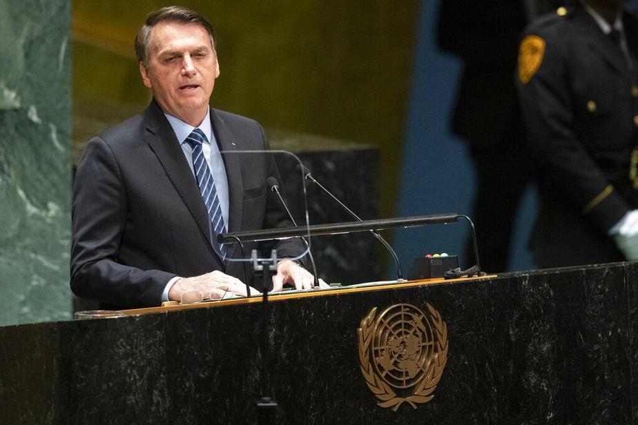 Em discurso na ONU, Bolsonaro detona parte da imprensa: