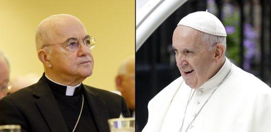 """GRAVE: importante arcebispo acusa o Papa de """"heresia"""" por defender união civil gay"""