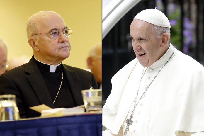 GRAVE: importante arcebispo acusa o Papa de