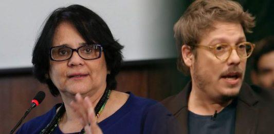 """""""É um inferno ter filhos!"""", diz Porchat; ministra Damares Alves rebate humorista"""