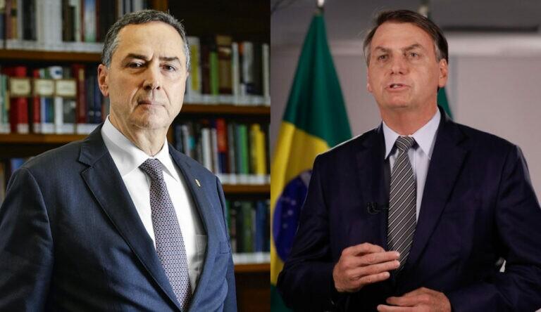 Barroso rebate Bolsonaro sobre adoção do voto impresso: