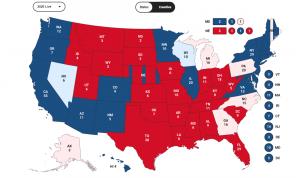 Apuração de votos nos EUA