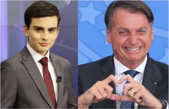 Dudu Camargo diz que Bolsonaro sofre perseguição e admite: