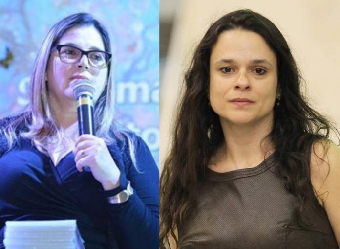 Marisa Lobo elogia Janaína e diz que Bolsonaro é alvo de uma