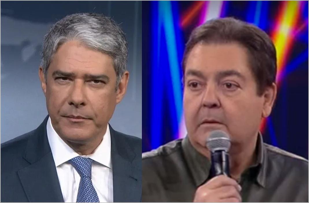 Além de Faustão, William Bonner também vai deixar a Globo, diz colunista