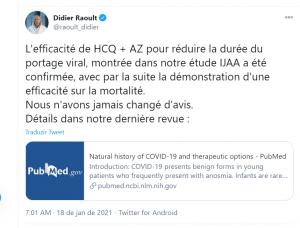 Médico Didier desmente fake news da mídia sobre a cloroquina.