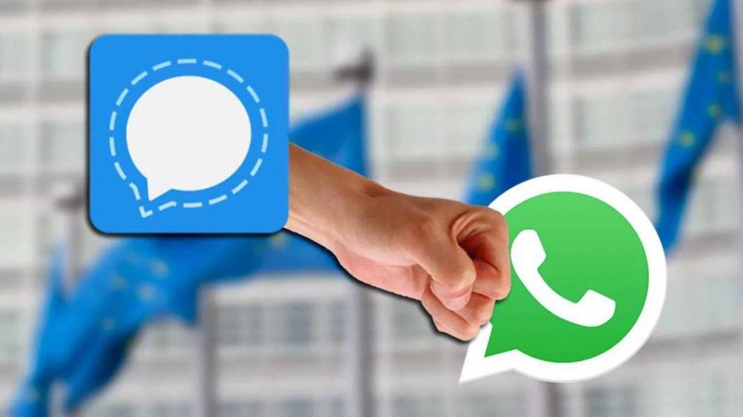 Preocupada com a segurança, Comissão Europeia troca WhatsApp por Signal