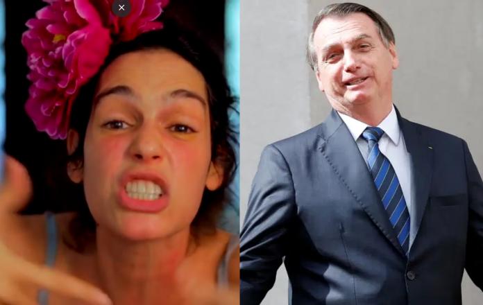 Encenação de Maria Flor culpando Bolsonaro por não ter Carnaval confunde internautas