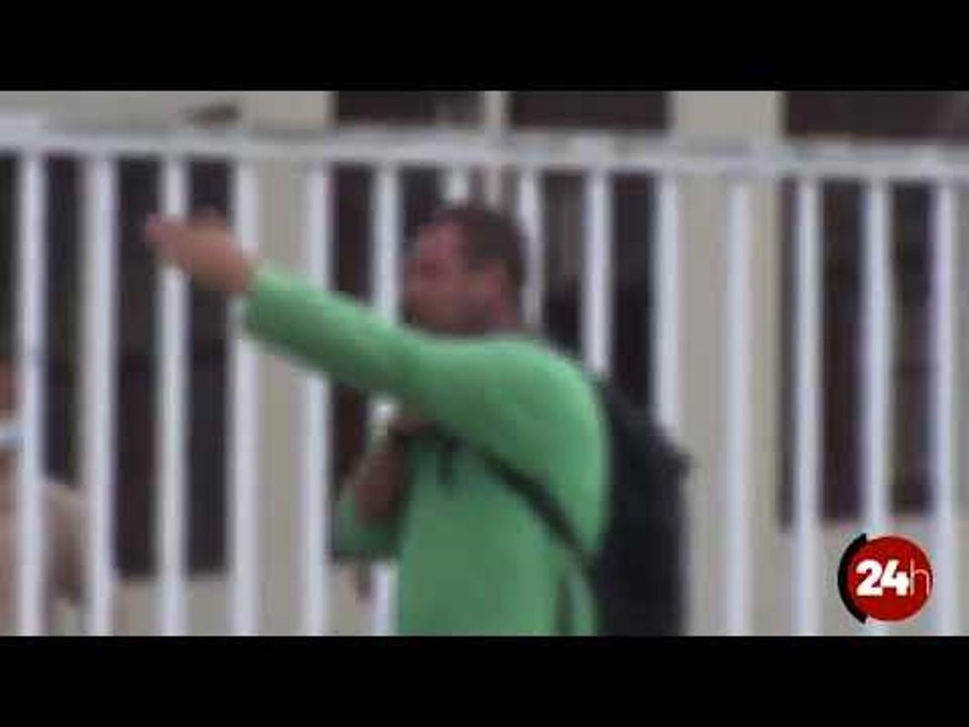 VÍDEO: desesperado por não poder trabalhar, pipoqueiro ameaça suicídio em Prefeitura