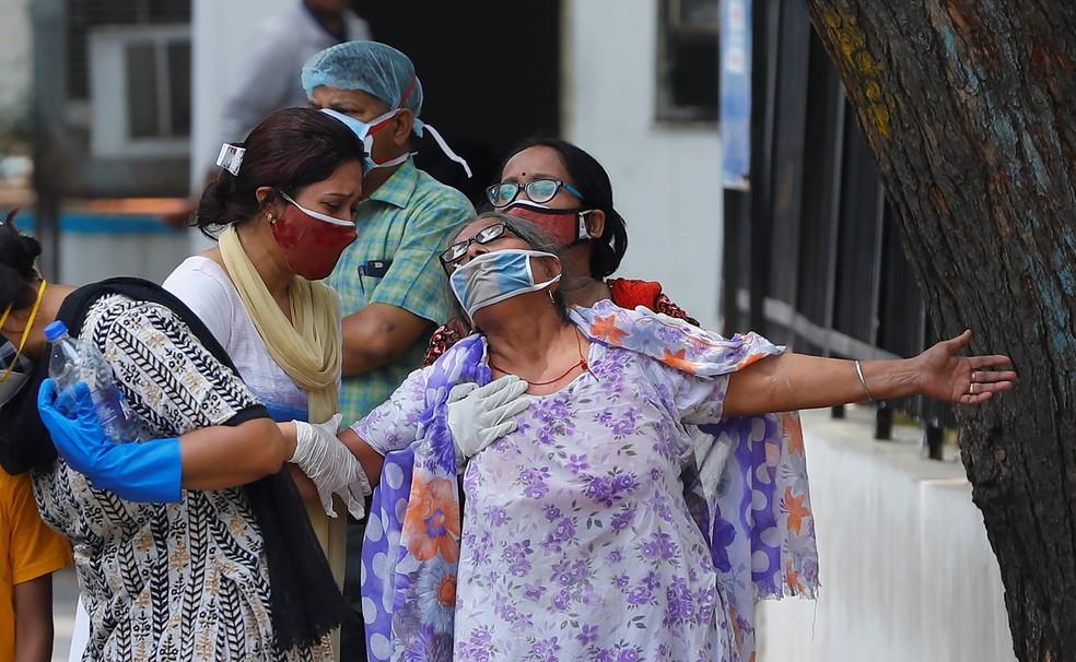 Índia relata 8.848 casos de