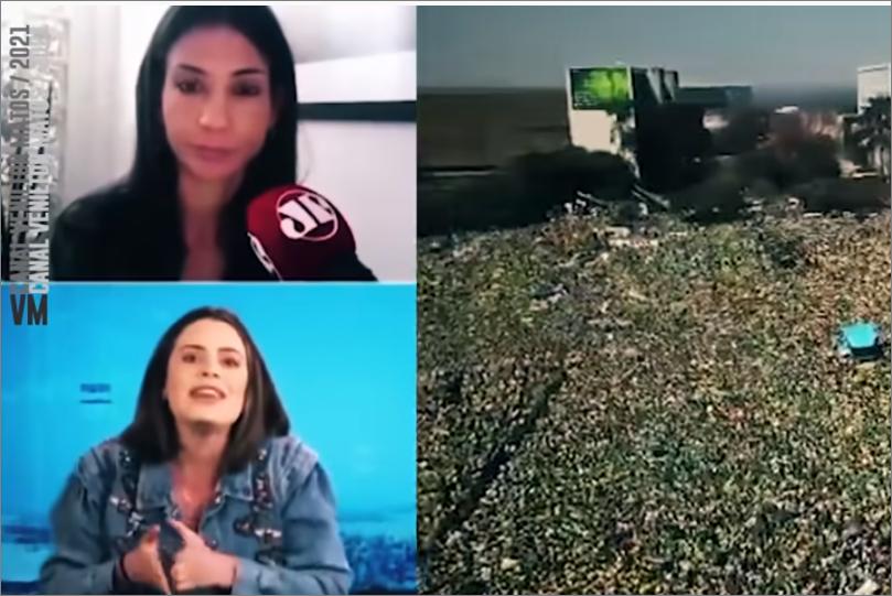 Vídeo: cubana se revolta e 'janta' comentarista ao vivo ao defender manifestações