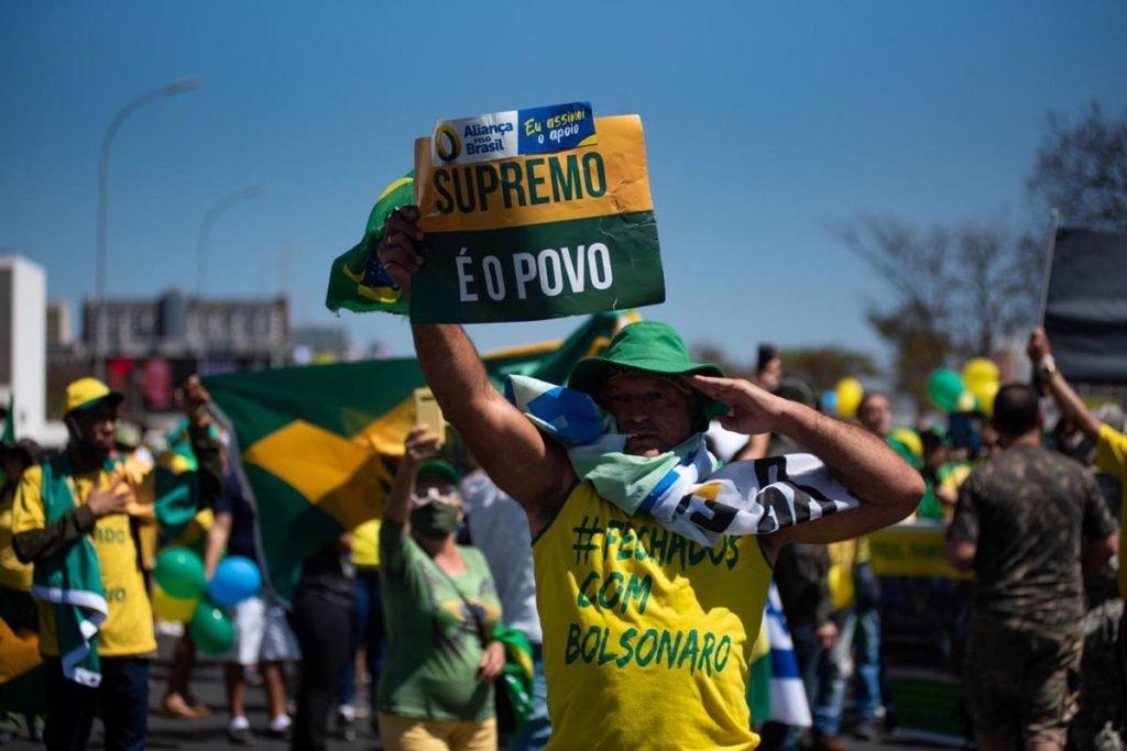 Desespero? Mídia inicia campanha de narrativas para desconstruir manifestações