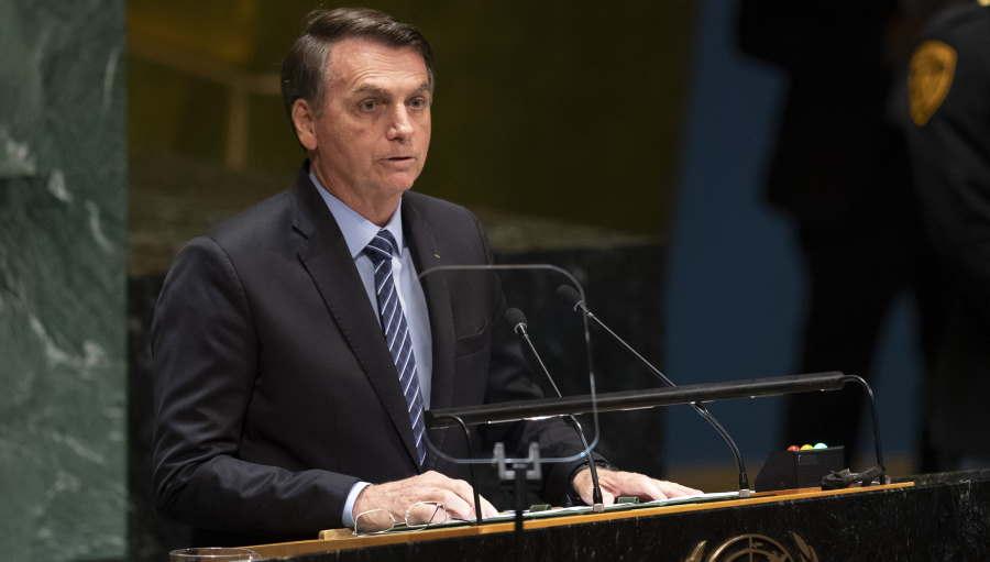 Ao quebrar protocolos na ONU, Bolsonaro mostra ao mundo autenticidade e liderança