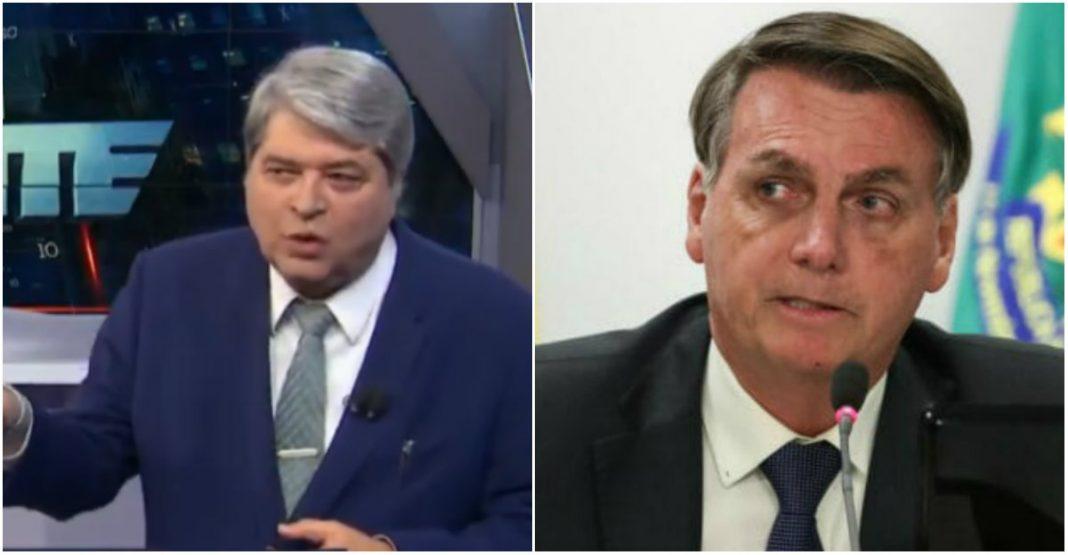 De olho em 2022, Datena critica Bolsonaro na ONU por ter